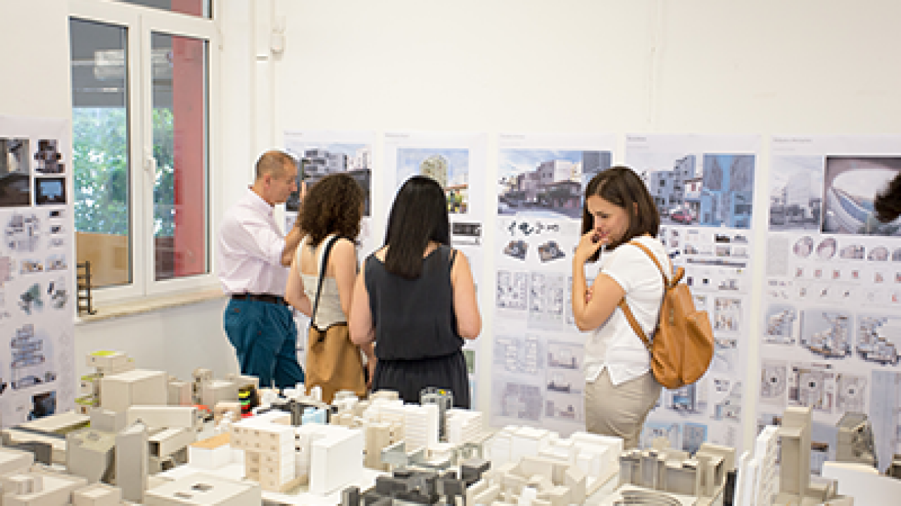 7th ARCHITECTURE YEAR SHOW by Metropolitan College