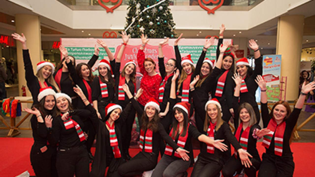 Το Christmas Junior Academy από το Τμήμα Παιδαγωγικών ενθουσίασε τους μικρούς του επισκέπτες!