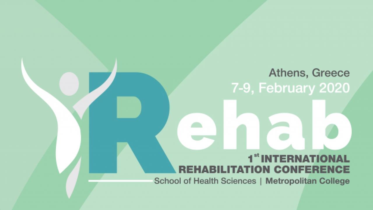 1st International Rehabilitation Conference by Metropolitan College