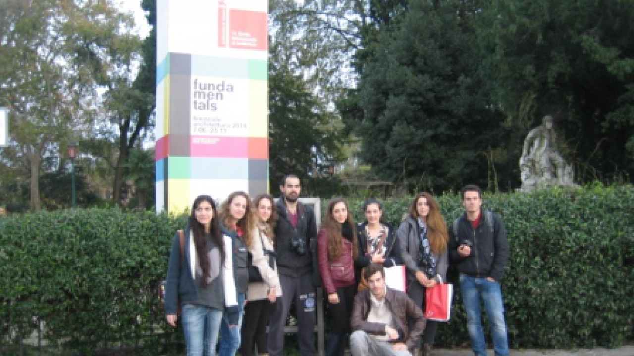 The Department of Architecture visits the 14th Venice Architecture Biennale