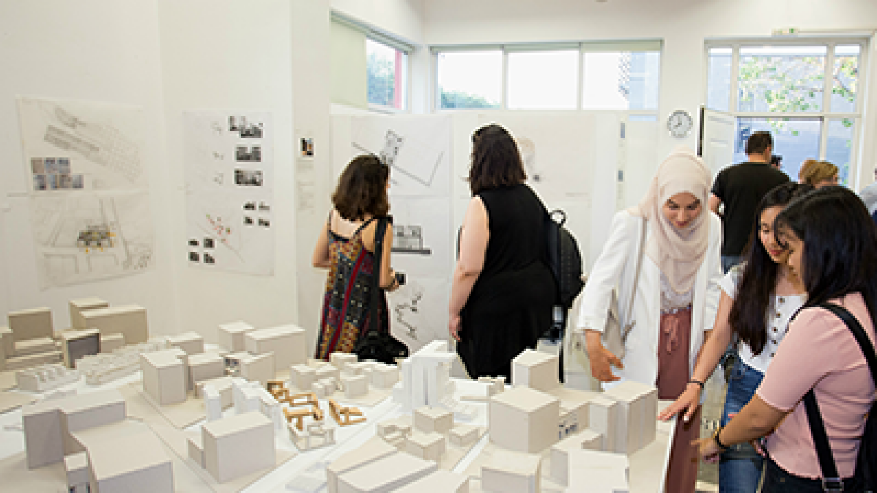 The students of the School of Architecture redefine the urban landscape of Athens