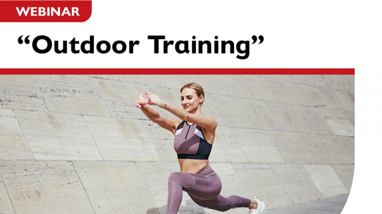 "Webinar ""Outdoor Training"" από το Τμήμα Προπονητικής του Μητροπολιτικού Κολλεγίου"