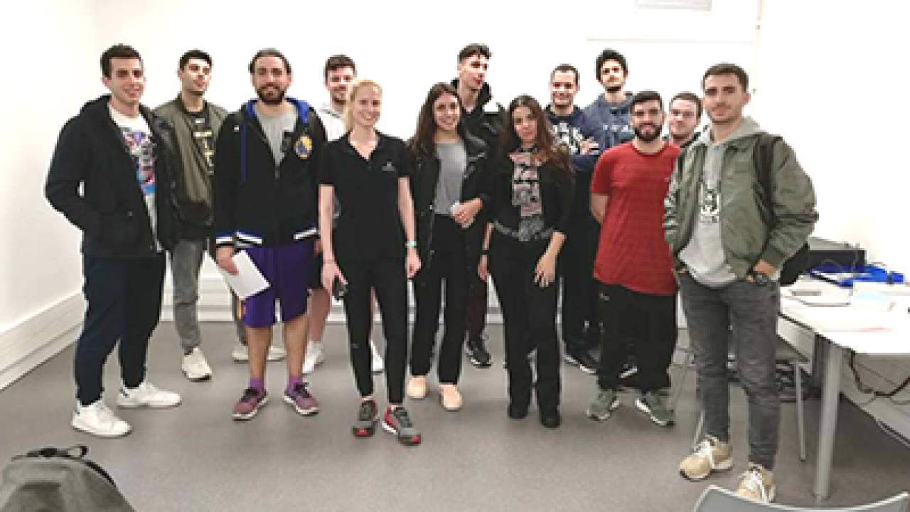 Εκπαιδευτικά σεμινάρια από τη Holmes Place Academy για τους φοιτητές του Τμήματος Προπονητικής & Φυσικής Αγωγής