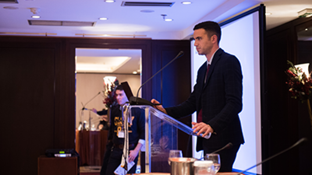 Ο Ακαδημαϊκός Υπεύθυνος των προγραμμάτων Sports Management του Μητροπολιτικού Κολλεγίου σε Διεθνές Συνέδριο Αθλητισμού