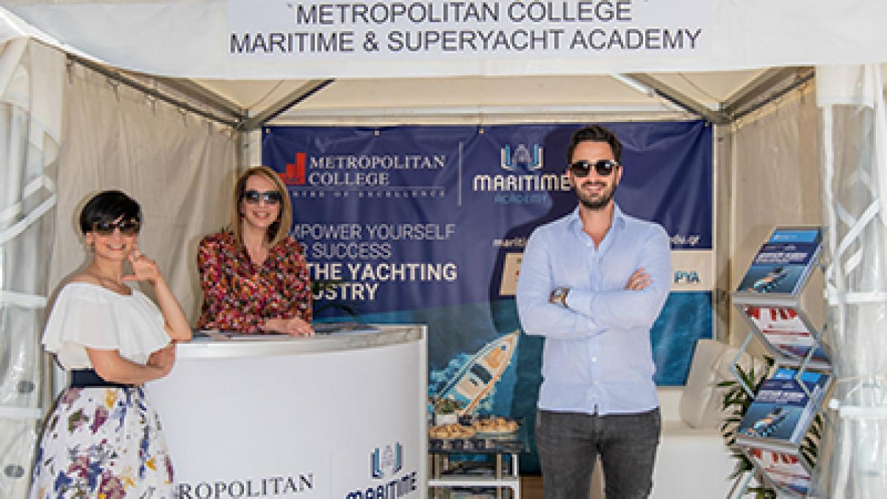 Η Ναυτική Ακαδημία του Μητροπολιτικού Κολλεγίου στο 6ο Mediterranean Yacht Show στο Ναύπλιο