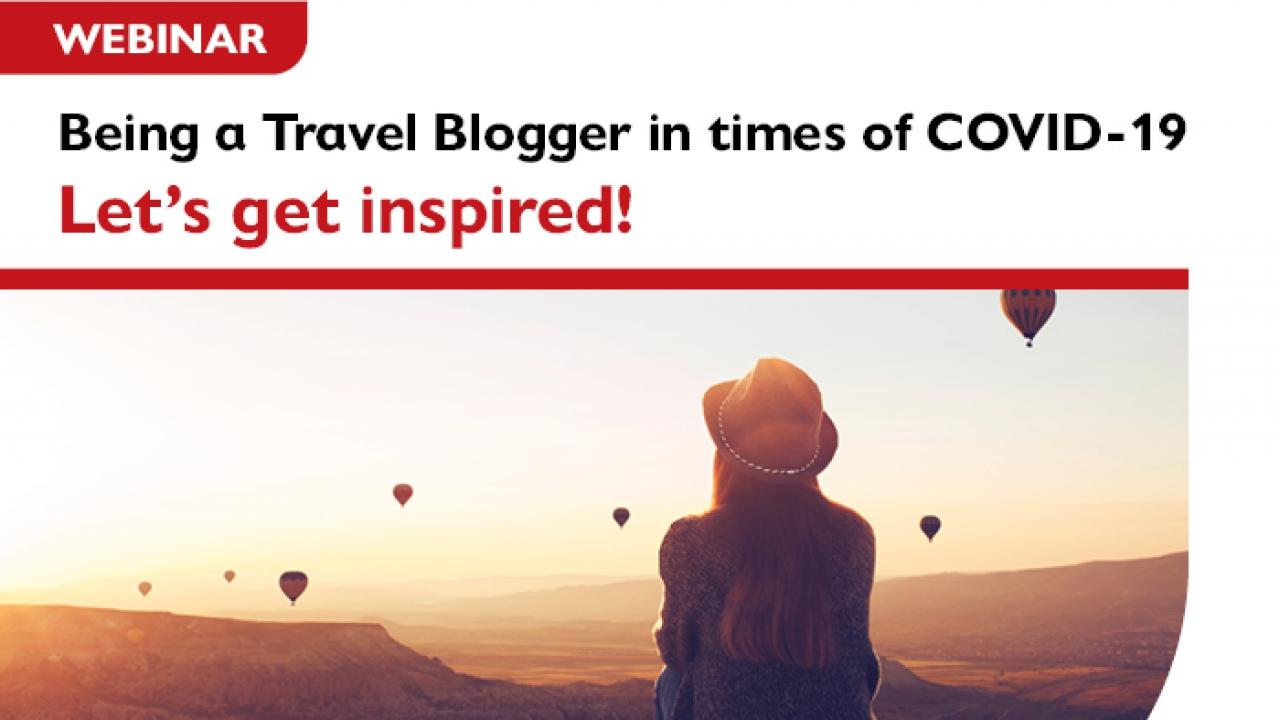 Webinar «Το travel blogging εν μέσω πανδημίας»