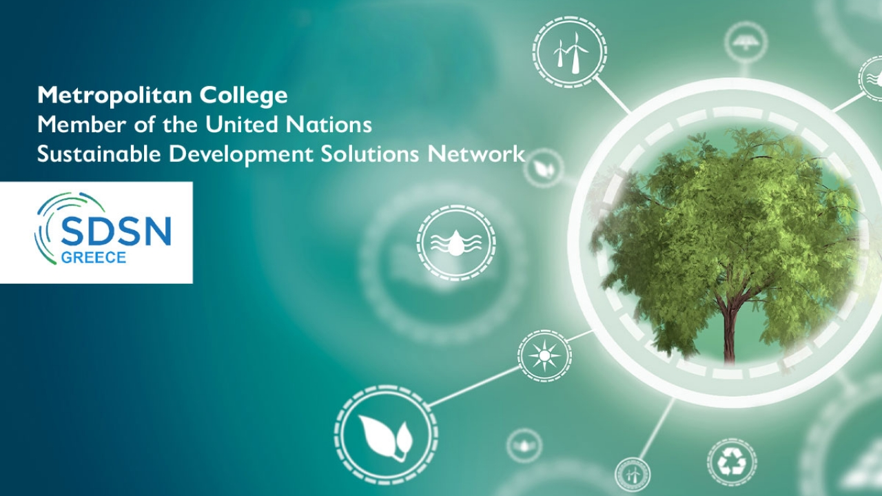 Metropolitan College is now a Member of the UN Sustainable Development Solutions Network